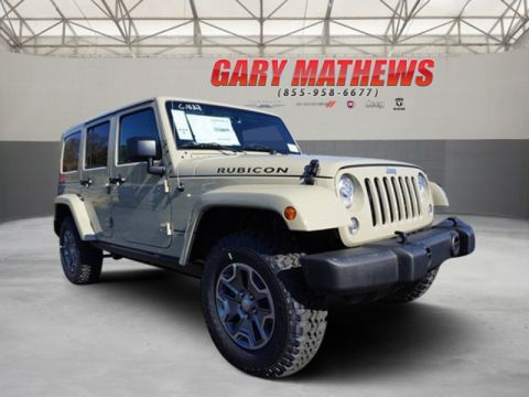 New Jeep Wrangler Unlimited in Clarksville | Gary Mathews Motors
